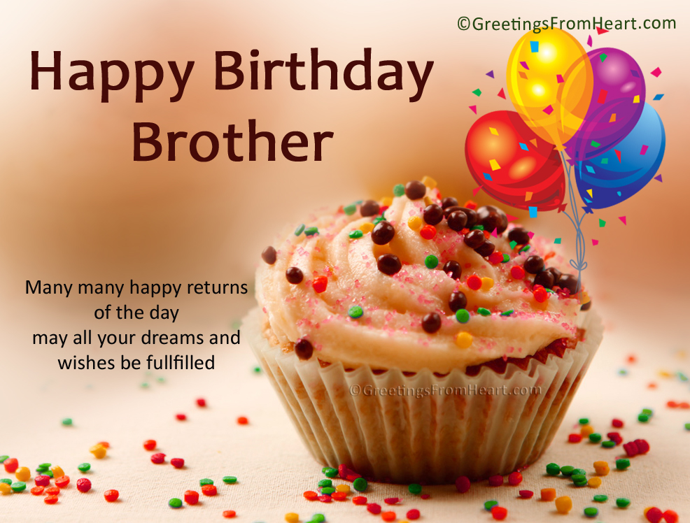 birthday greeting for brother