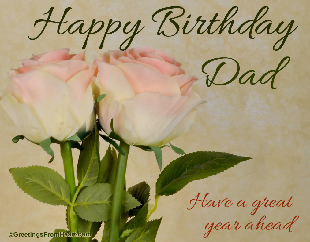 Happy birthday dad birthday greeting for dad m4hsunfo
