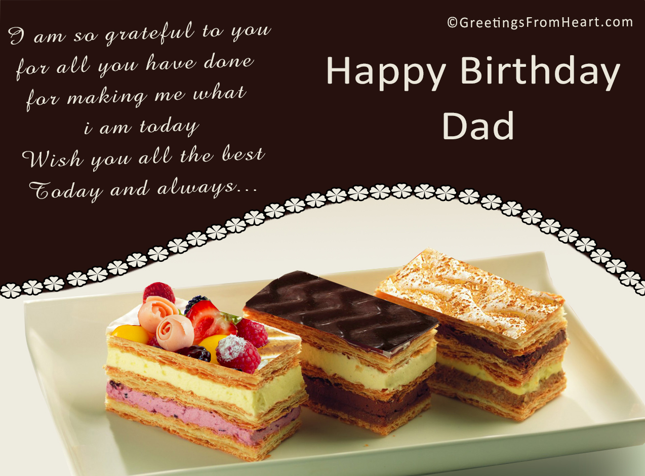 Birthday Greetings For Father Birthday Wishes For Father
