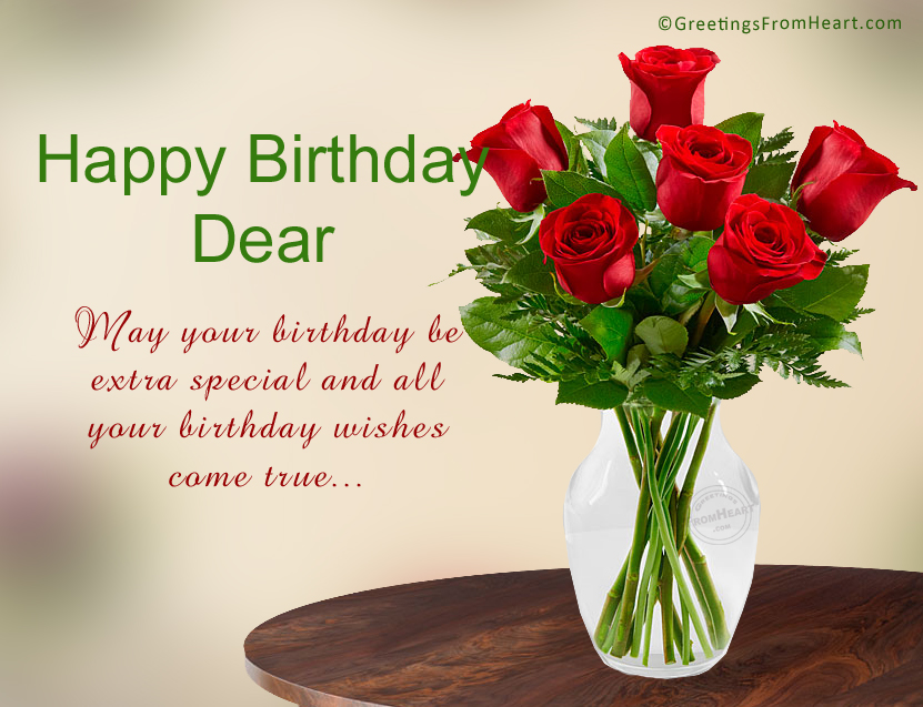 Birthday Greetings For Sister – Happy Birthday Wishes Greetings for Friends