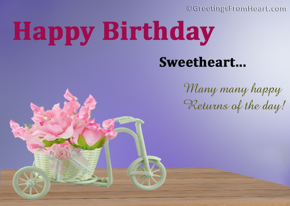 Birthday Wishes For A Friend Girl ~ Birthday greetings for lover birthday wishes for lover