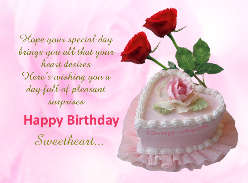 Birthday greetings for her birthday wishes for him happy happy birthday sweetheart m4hsunfo