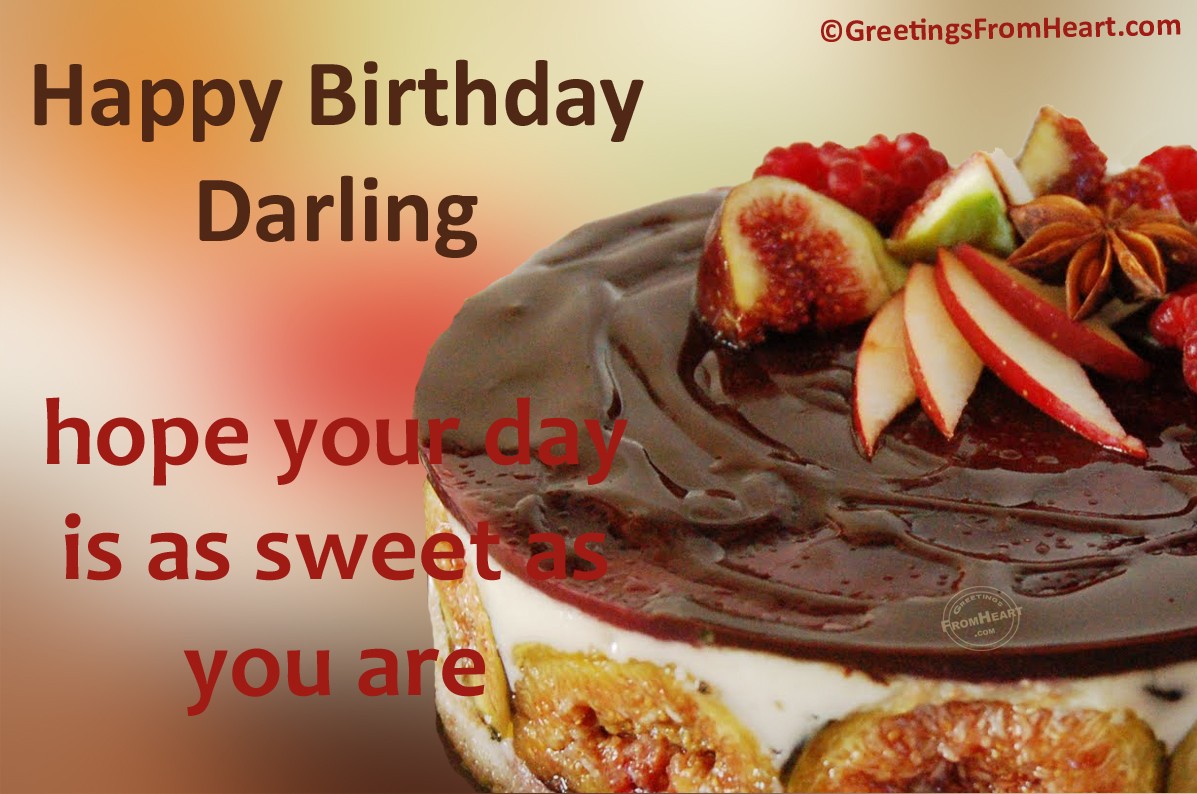 Birthday greetings for her birthday wishes for him happy happy birthday darling kristyandbryce Image collections