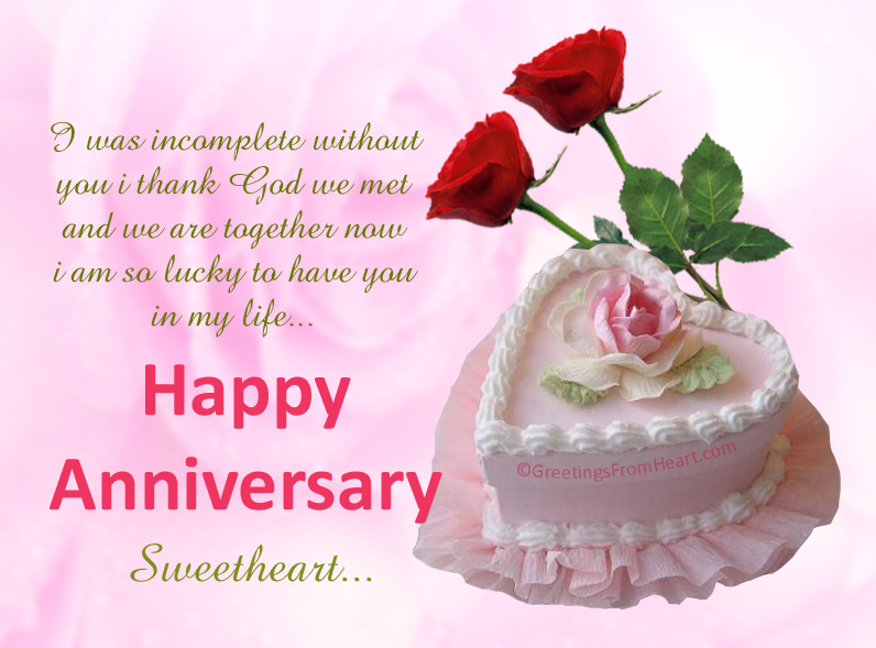 Anniversary greeings for husband wishes