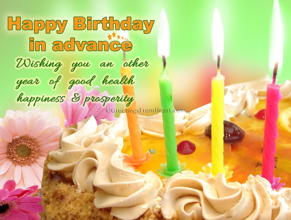 happy birthday in advance