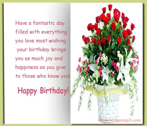Happy Birthday Cards Facebook gangcraftnet – Happy Birthday Cards for Facebook