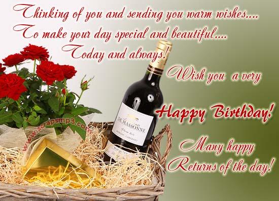 Happy Birthday – Greetings on Birthday