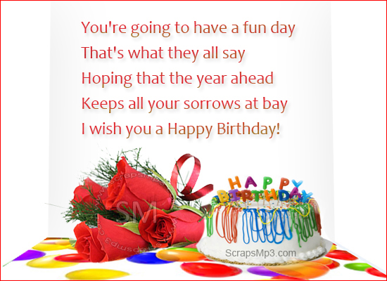 Birthday scraps birthday wishes birthday ecards happy birthday greetings m4hsunfo