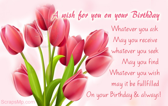 Happy Birthday – Birthdays Greetings
