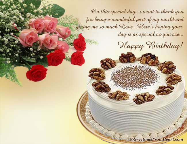 happy birthday greeting for wife