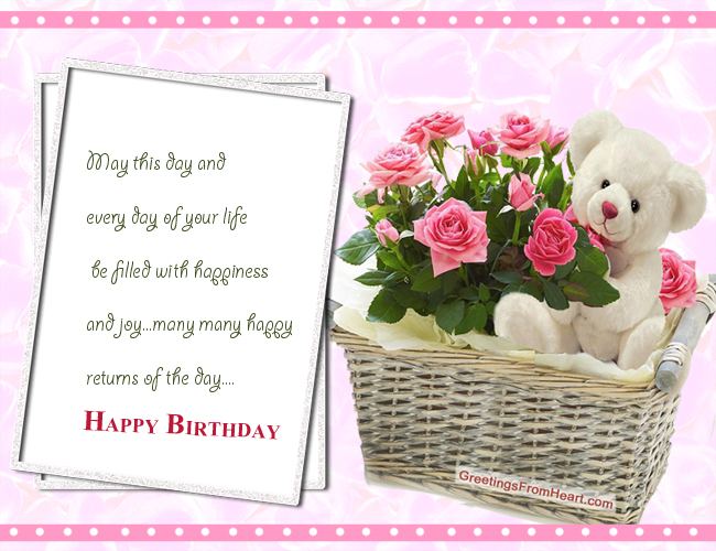 Happy Birthday – Images Birthday Greetings