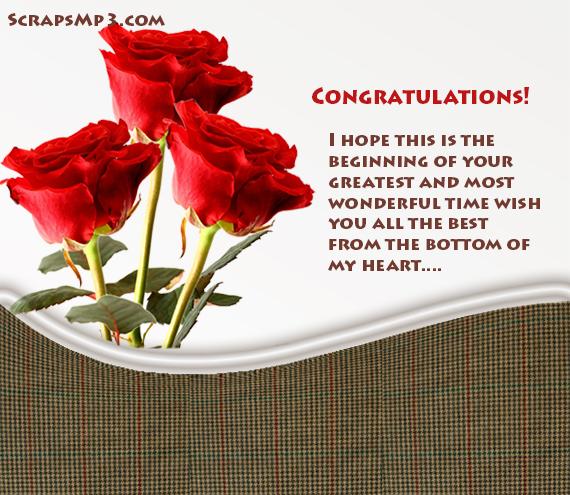 congratulations scraps