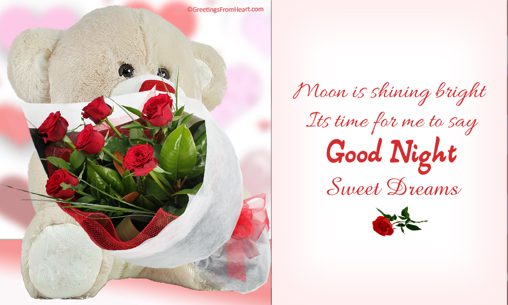 good night rose | good night with roses | good night with bouquet of ...