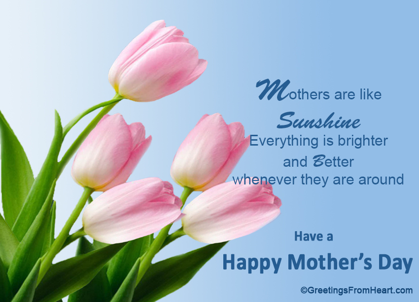 Happy mothers day greetings happy mothers day m4hsunfo