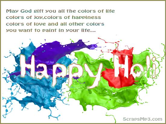 happy holi greeting