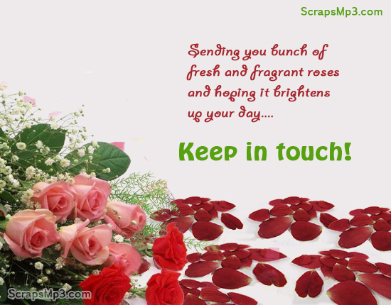 keep in touch greeting