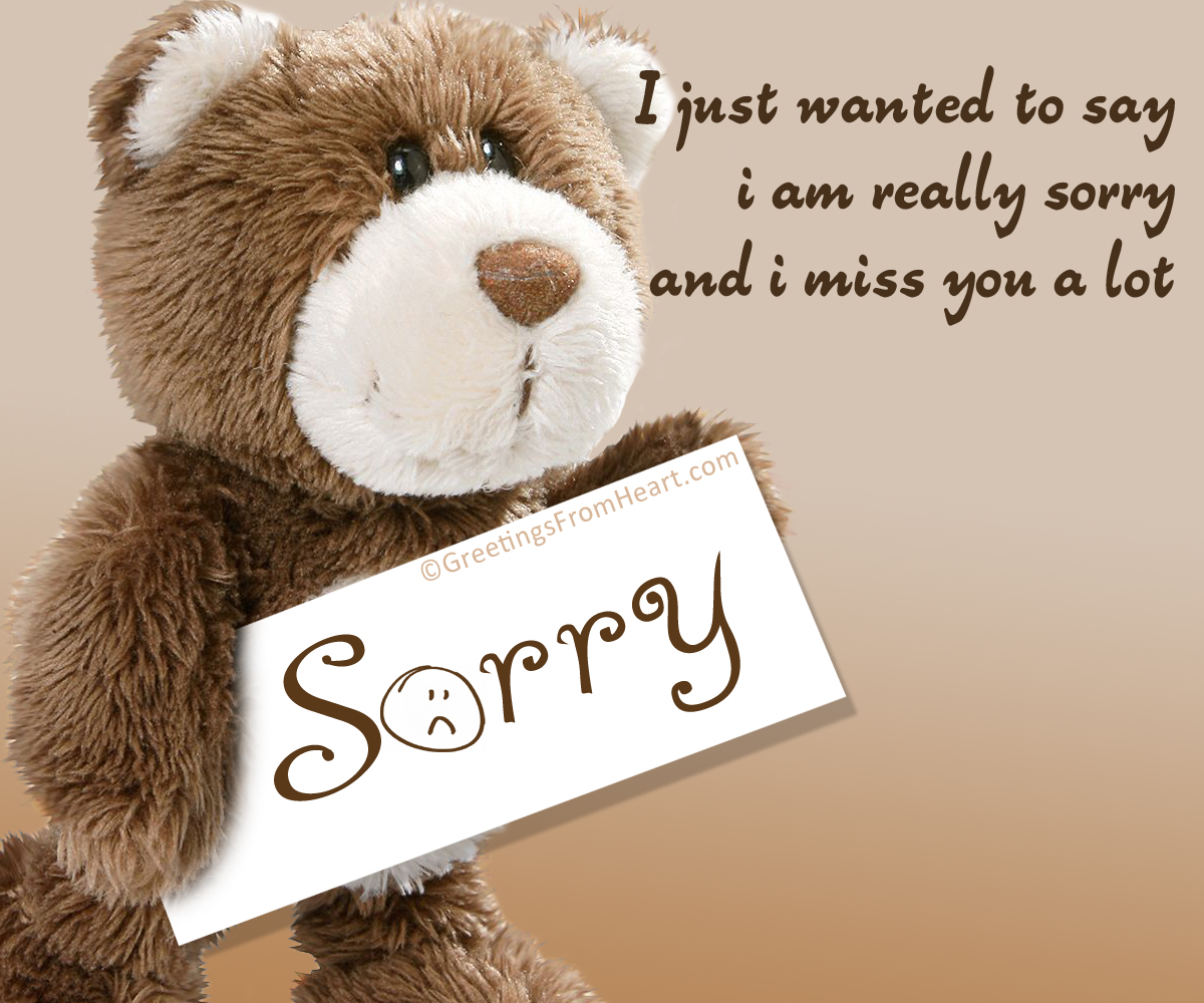 Sorry And Miss You Cards And Images